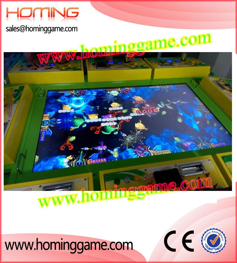 Ocean king fishing game machine game machine arcade game for Electronic fishing game