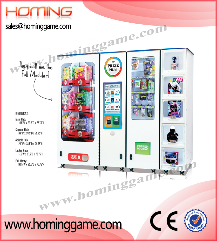 Prize Hub Modular Vending Machine,2015 Best Prize Vending Game Machine,Prize Hub,Prize,Hub's,Point,Sale,System,Prize,Hub,Modular,prize vending machine,redemption system,game machine,arcade game machine,prize vendor,coin operated game machine,arcade game machine for sale,indoor game machine,amusement park game equipment,electrical slot game machine,gaming machine,slot game machine,casino gaming machine,amsuement park game equipment