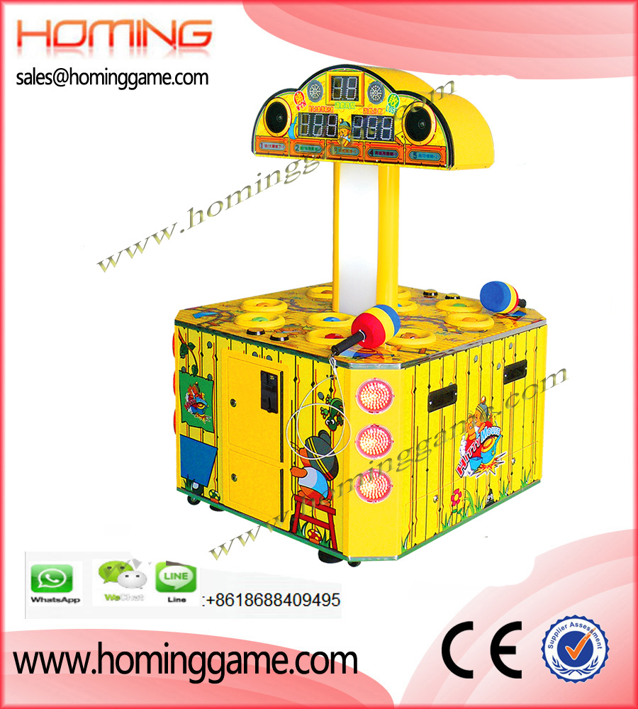 Hitty Mouse Hammer Redemption Game Machine,Hammer Arcade Game Machine,Hammer Arcade,Hitty Mouse Arcade Game,Hammer Redemption Game Machine,Hit Hammer Arcade Game,Game Machine,Arcade Game Machine,Coin Operated Game Machine,Amusement Game Machine,Redemption Ticket Game Machine,Family Entertainment,Family Entertainment Game Machine,Entertainment Game Machine,Electrical Game Machine,Kids Game Equipment