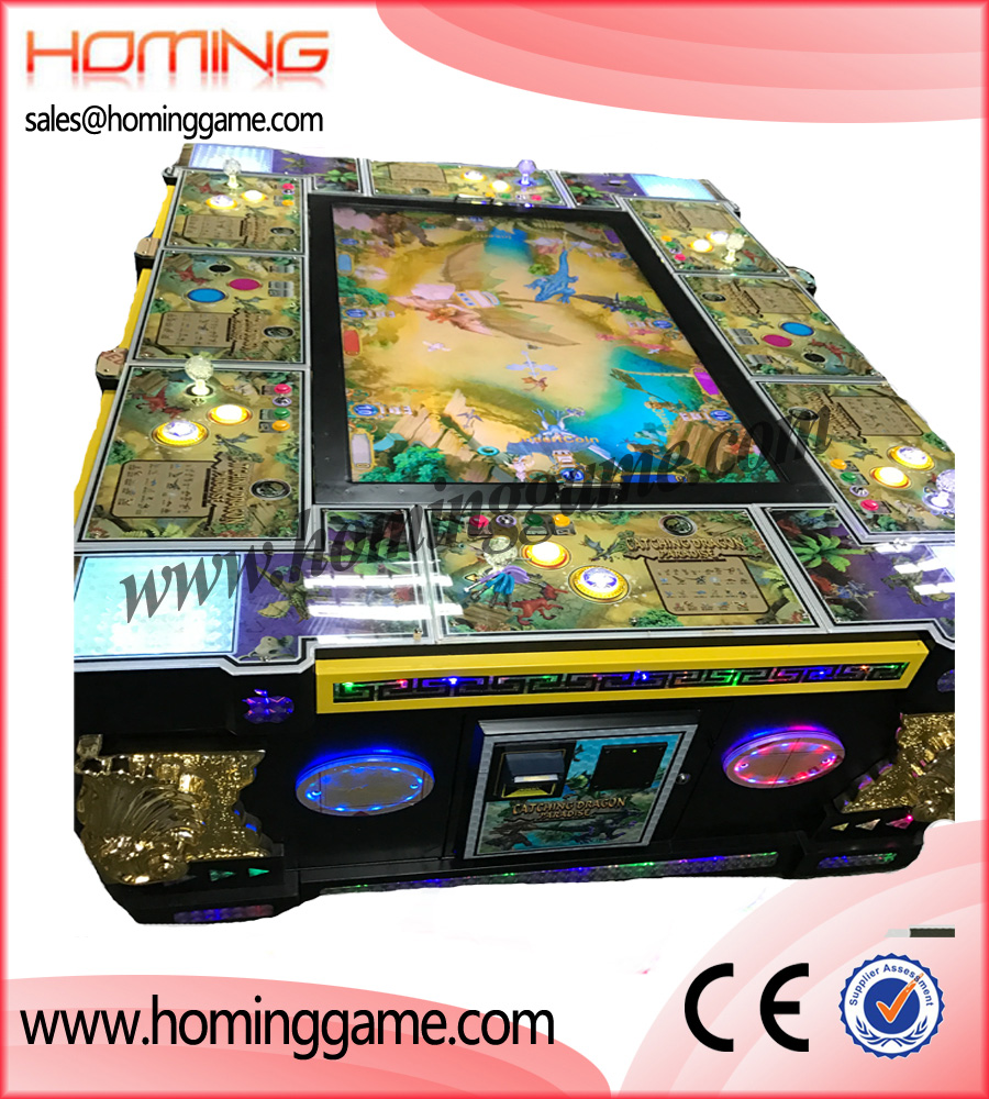 2017 Catch Dinasour Fishint Table Game Machine
