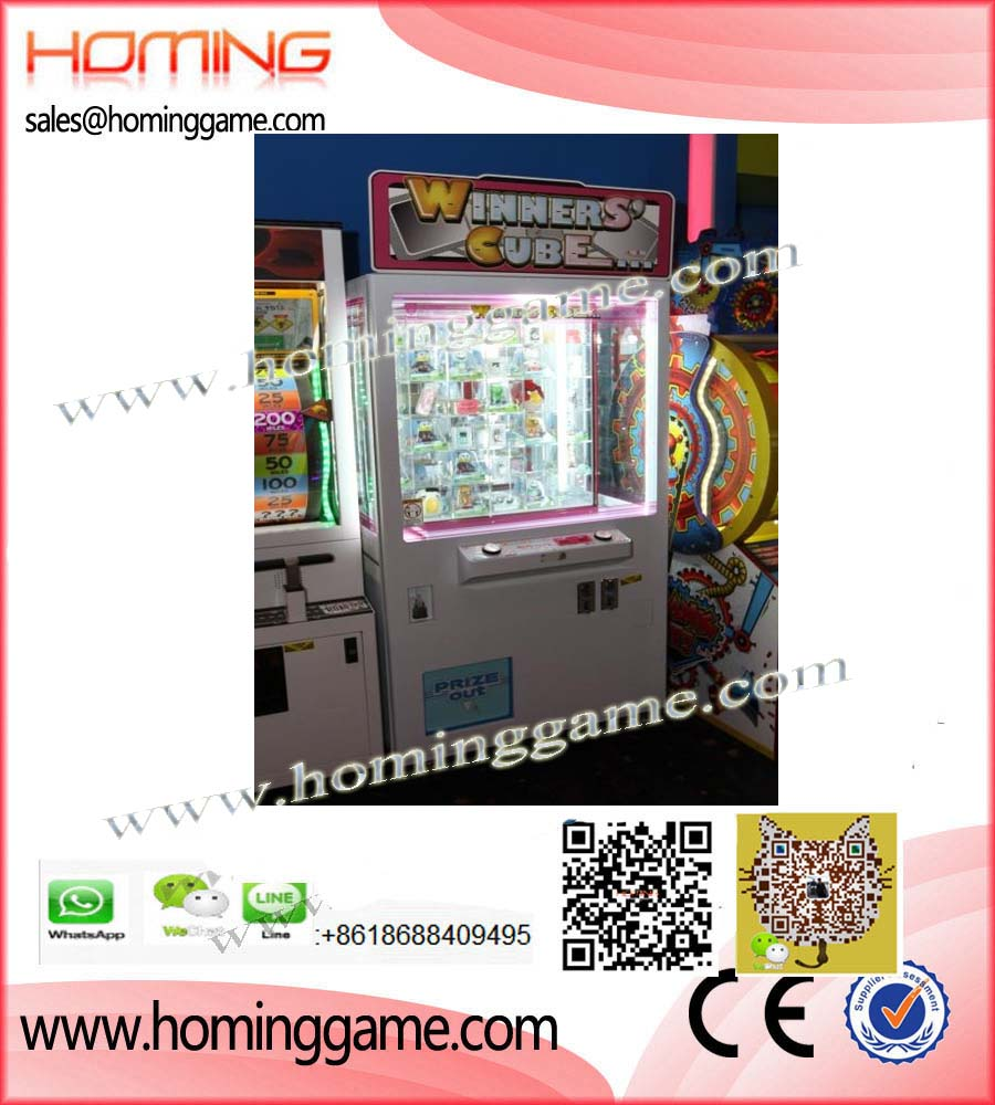 2018 Hot Sale Winner Cube Prize Game Machine,Winner cube prize game machine,Prize Game Machine,Prize Redemption Game,Prize Vending Machine,Vending Machine,Game Machine,Arcade Game Machine,Coin Operated Game Machine,Key master arcade game machine,Key master,Barbut cut prize game machine,Winner Cube Prize Game Machine,Electrical Game Machine,Amusement park game equipment