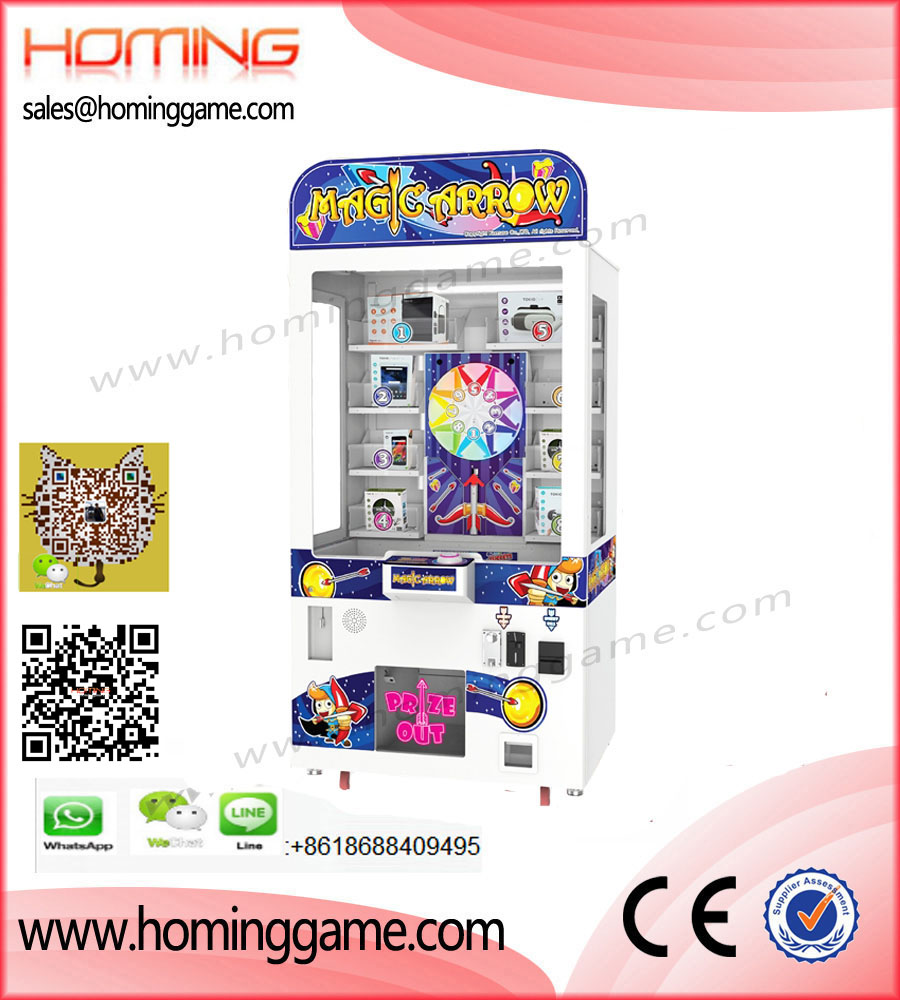 Magic Arrow Prize Arcade Game Machine,Hot Prize Redemption Game Machine,Magic Arrow Prize,Magic Arrow Game Machine,Arrow Arcade Game Machine,Prize Arrow Game Machine,Game Machine,Arcade Game Machine,Coin Operated Game Machine,Entertainment Game Machine,Family Entertainment Game,Prize Vending Machine,Vending Machine,Gift Game Machine,Indoor Game Machine,Electrical Slot Game Machine,Game Equipment